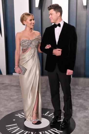 Scarlett Johansson inOscar de la Renta-2