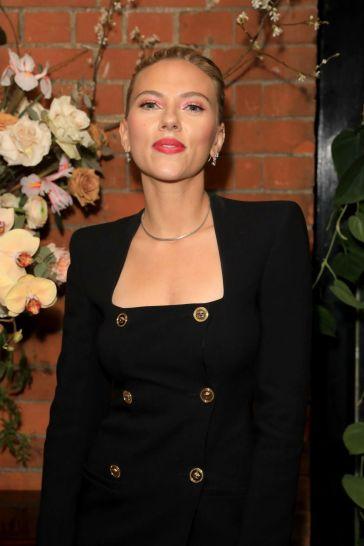 Scarlett Johansson in Versace Spring 2020-2