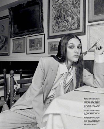 Vittoria Ceretti for Vogue Italia February 2020-9