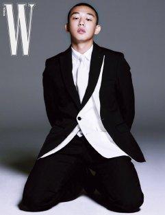 Yoo Ah-In for W Korea March-8