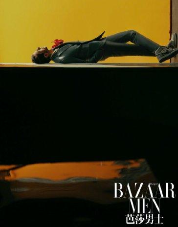 Adrien Brody for Bazaar Men China April 2020-1