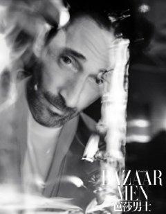 Adrien Brody for Bazaar Men China April 2020-4