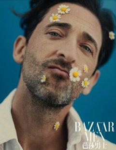Adrien Brody for Bazaar Men China April 2020-6