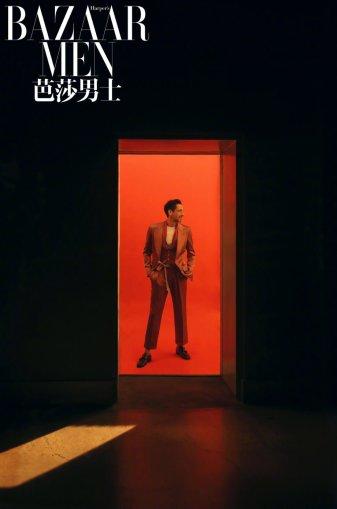 Adrien Brody for Bazaar Men China April 2020-7