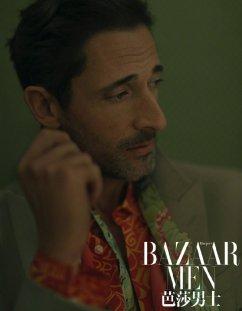 Adrien Brody for Bazaar Men China April 2020-8
