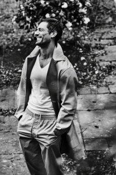 David Gandy for Elle Man Russia April 2020-1