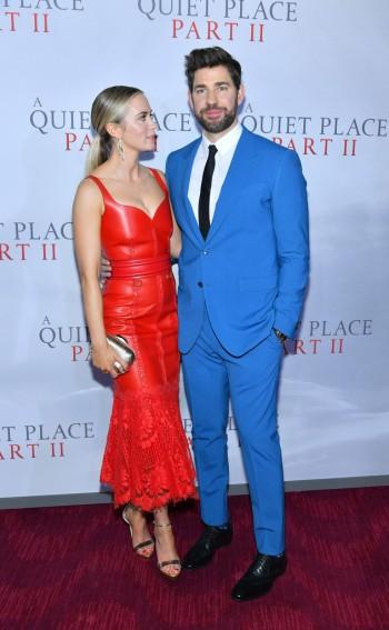 Emily Blunt in Alexander McQueen Resort 2020-4