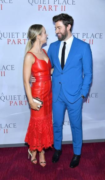 Emily Blunt in Alexander McQueen Resort 2020-9