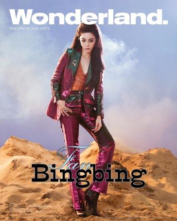 Fan Bing Bing for Wonderland Spring 2020 Cover C