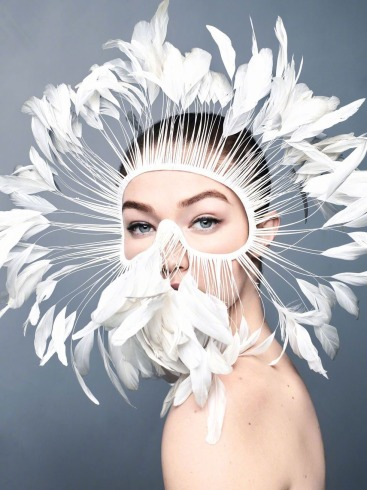 Gigi Hadid for Harper's Bazaar US April 2020-1
