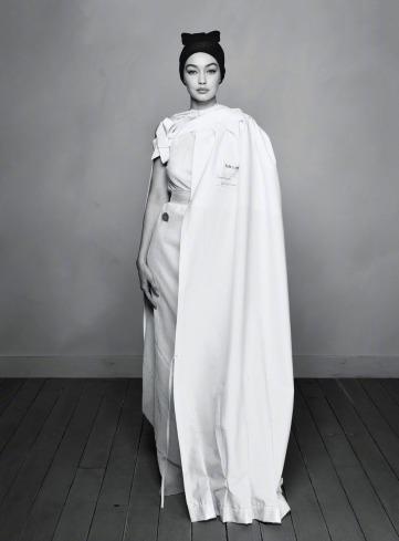 Gigi Hadid for Harper's Bazaar US April 2020-2