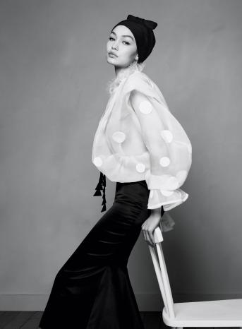 Gigi Hadid for Harper's Bazaar US April 2020-3