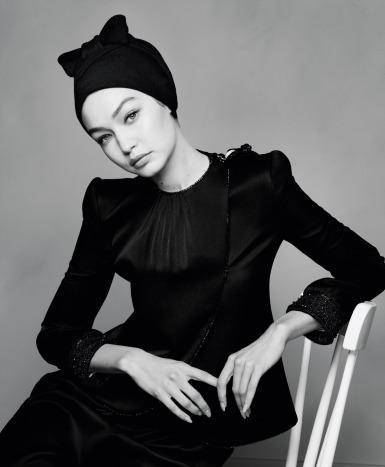 Gigi Hadid for Harper's Bazaar US April 2020-5