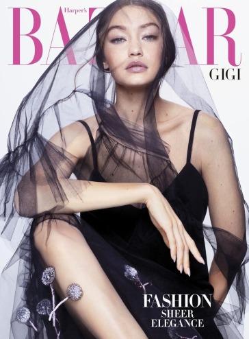 Gigi Hadid for Harper's Bazaar US April 2020 Cover B