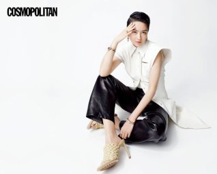 Gigi Leung Wing Kei for Cosmopolitan HK April 2020-5