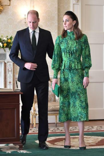 Kate Middleton in Alessandra Rich Spring 2020-2