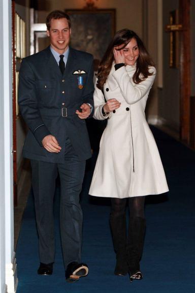 Kate Middleton in Reiss Olivia 2007