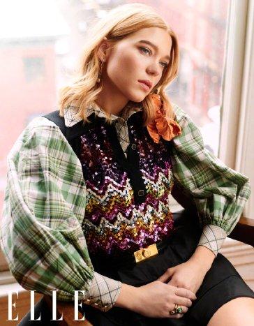 Lea Seydoux for ELLE China April 2020-2