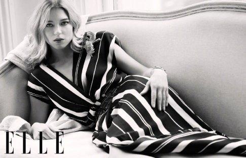 Lea Seydoux for ELLE China April 2020-5