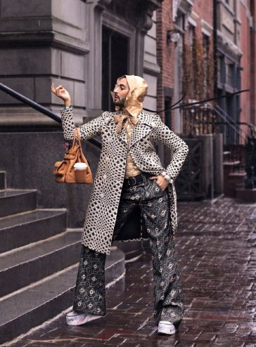 Marc Jacobs Harper's Bazaar US April 2020-2