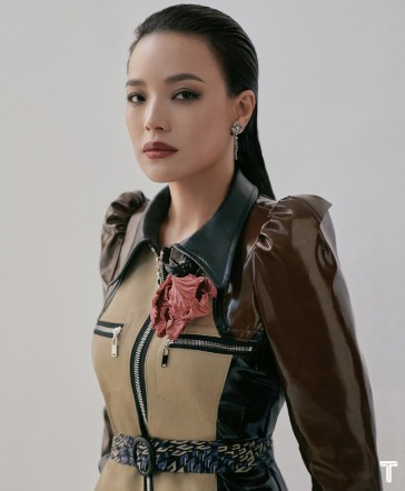 Shu Qi for T magazine China March 2020-7