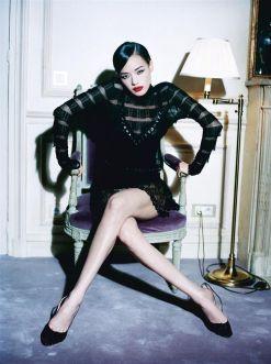 Shu Qi for Vogue Italia February 2006 by Ellen Von Unwerth-1