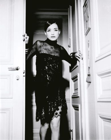 Shu Qi for Vogue Italia February 2006 by Ellen Von Unwerth-3