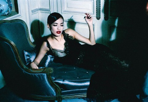 Shu Qi for Vogue Italia February 2006 by Ellen Von Unwerth-4