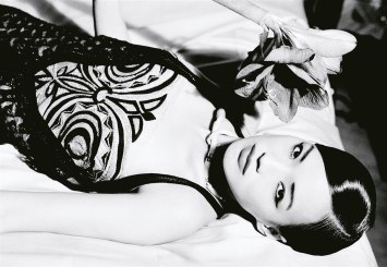 Shu Qi for Vogue Italia February 2006 by Ellen Von Unwerth-7