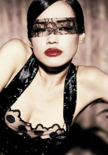 Shu Qi for Vogue Italia February 2006 by Ellen Von Unwerth-8