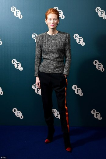 Tilda Swinton in Haider Ackermann Fall 2016-3