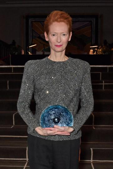 Tilda Swinton in Haider Ackermann Fall 2016-7
