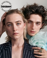 Timothee Chalamet & Saoirse Ronan Entertainment Weekly October 2019-3