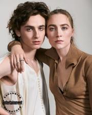 Timothee Chalamet & Saoirse Ronan Entertainment Weekly October 2019-4