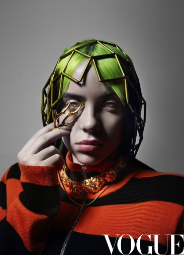 Billie Eilish for Vogue China June 2020-5