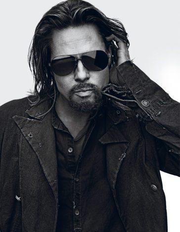 Brad Pitt X Interview Magazine October November 2012-1