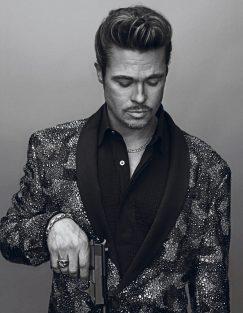 Brad Pitt X Interview Magazine October November 2012-7