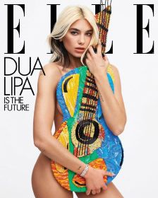 Dua Lipa for ELLE US May 2020 Cover B