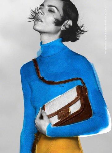 Freja Beha Erichsen for Prada Pre-Fall 2020 Campaign-2
