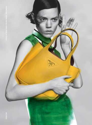 Freja Beha Erichsen for Prada Pre-Fall 2020 Campaign-3