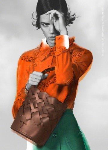 Freja Beha Erichsen for Prada Pre-Fall 2020 Campaign-4