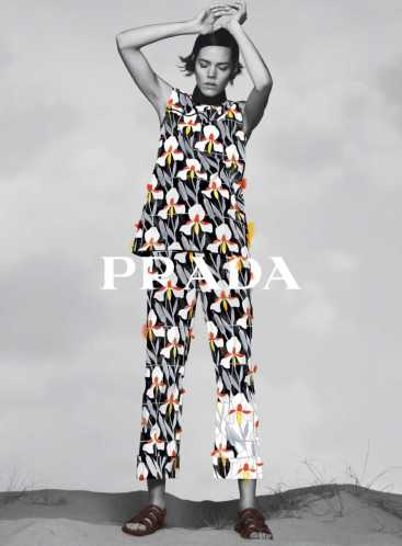 Freja Beha Erichsen for Prada Pre-Fall 2020 Campaign-5