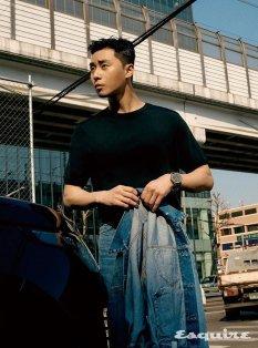 Park Seo Jun for Esquire Korea May 2020-11