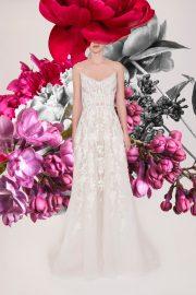 Reem Acra Bridal Spring 2021 Look 1
