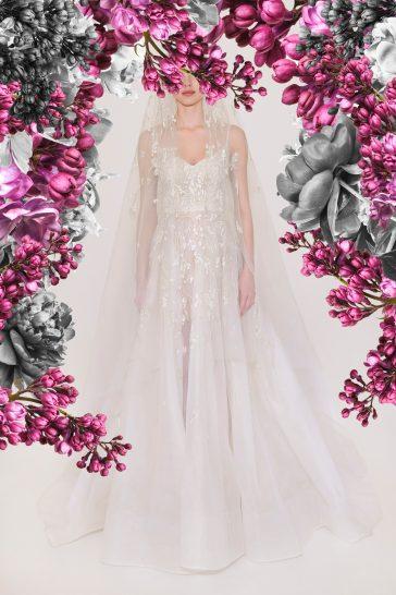 Reem Acra Bridal Spring 2021 Look 11