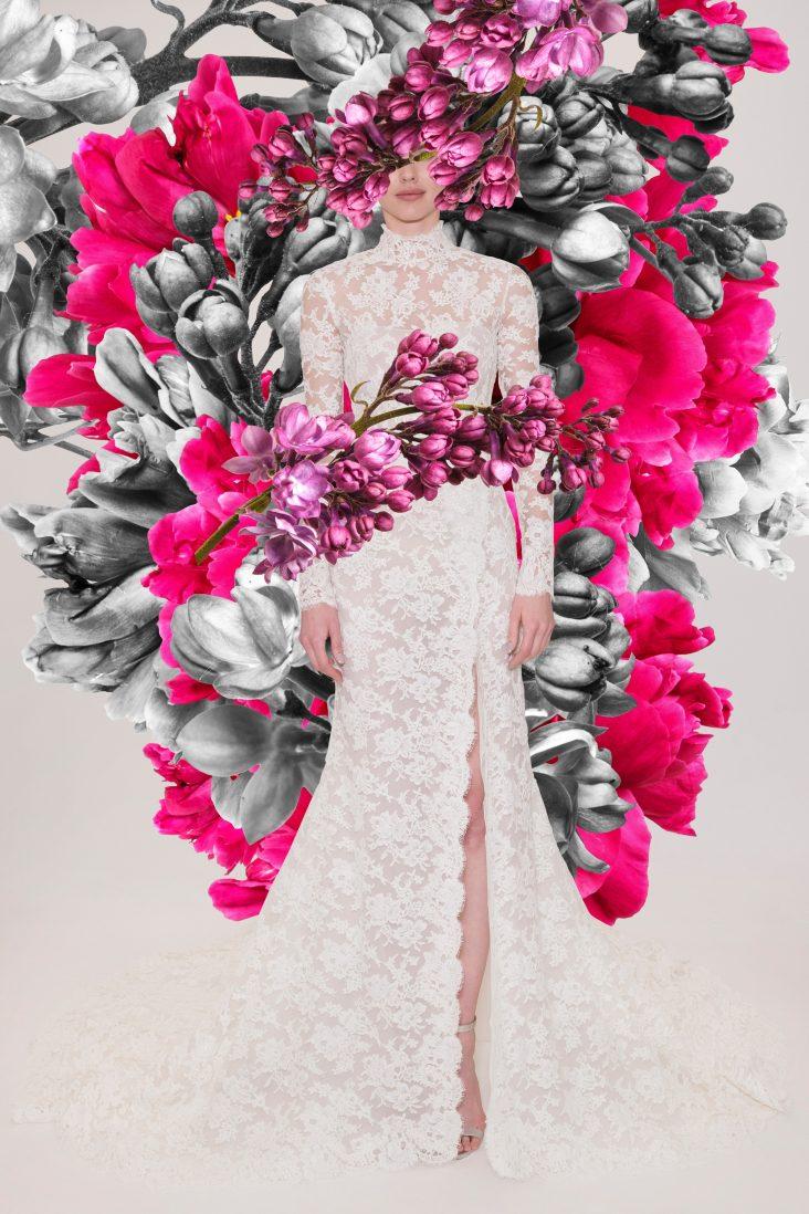 Reem Acra Bridal Spring 2021 Look 12