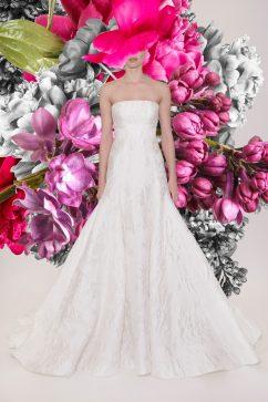 Reem Acra Bridal Spring 2021 Look 5