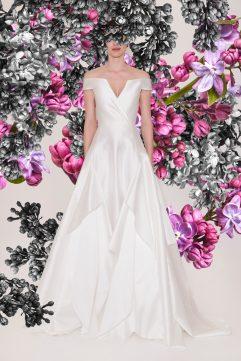 Reem Acra Bridal Spring 2021 Look 6