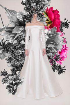 Reem Acra Bridal Spring 2021 Look 7
