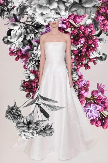 Reem Acra Bridal Spring 2021 Look 8